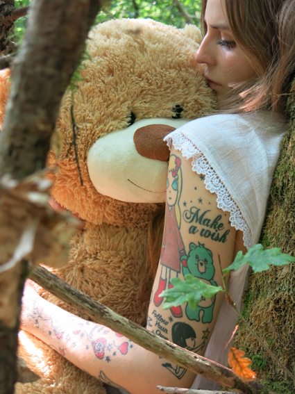 Make a wish_bearwish_by Annina Roescheisen_2013_art