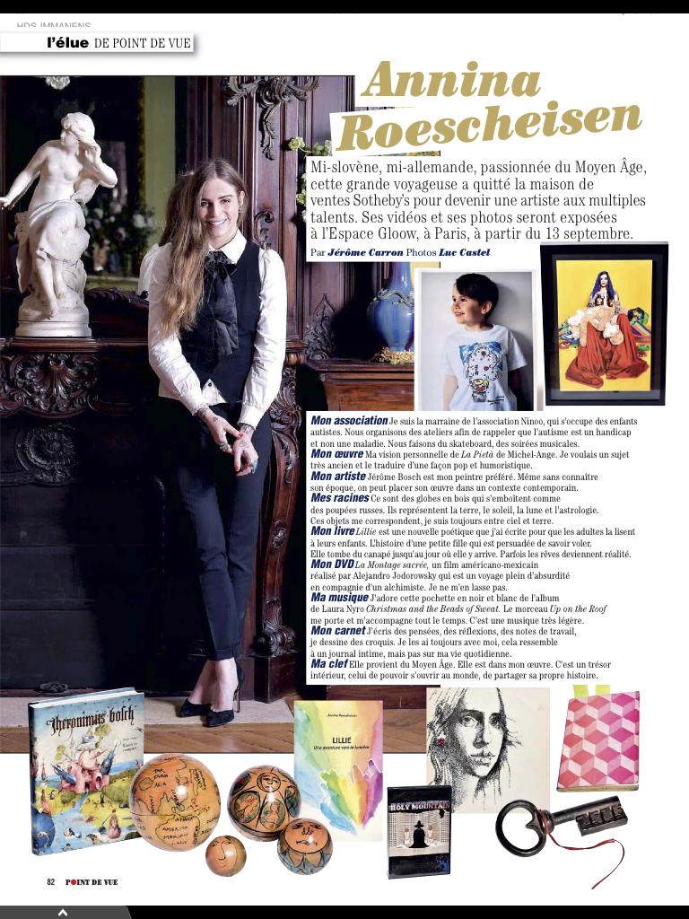 Point de vue l'elue - Annina Roescheisen